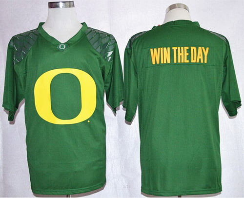 Oregon Ducks Blank Win The Day Team Pride Fashion Green Jersey