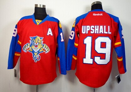 Florida Panthers #19 Scottie Upshall Red Jersey