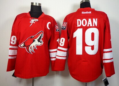 Phoenix Coyotes #19 Shane Doan Red Jersey