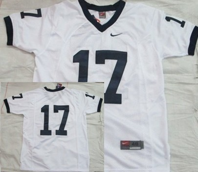 Penn State Nittany Lions #17 White Jersey