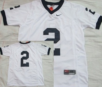 Penn State Nittany Lions #2 White Jersey
