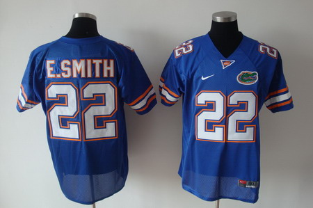 Florida Gators #22 E.Smith Blue Jersey