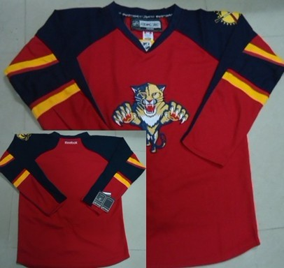 Florida Panthers Blank Red Jersey