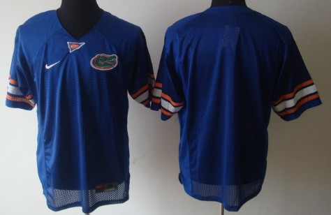 Florida Gators Blank Blue Jersey