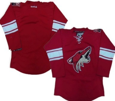 Phoenix Coyotes Blank Red Jersey
