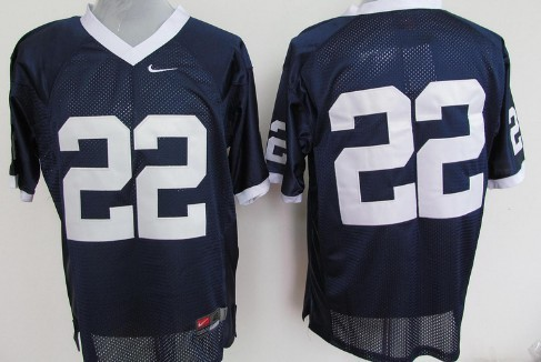Penn State Nittany Lions #22 Navy Blue Jersey