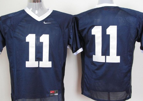 Penn State Nittany Lions #11 Navy Blue Jersey