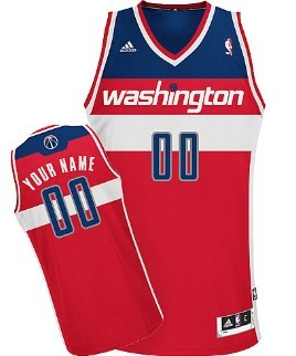 Kids Washington Wizards Customized Red Jersey
