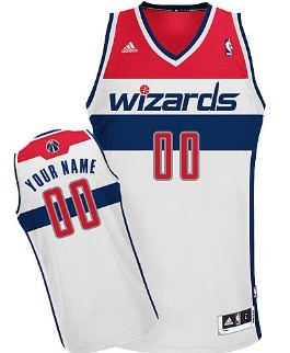 Kids Washington Wizards Customized White Jersey