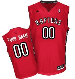 Kids Toronto Raptors Customized Red Jersey