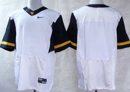 West Virginia Mountaineers Blank 2013 White Elite Jersey