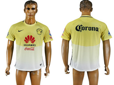 2016-17 Club America Home Thailand Soccer Jersey