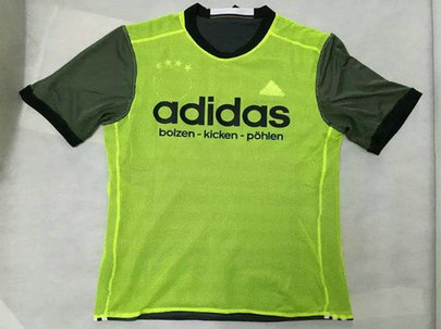 2016 Germany Away Green Thailand Soccer Jersey