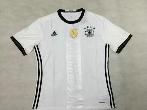 2016 Germany Home White Thailand Soccer Jersey