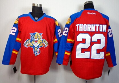 Florida Panthers #22 Shawn Thornton Red Jersey