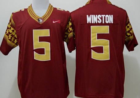 Florida State Seminoles #5 Jameis Winston 2014 Red Limited Jersey