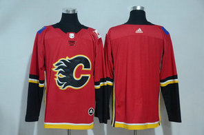Adidas Flames Blank Red NHL Stitched Jersey