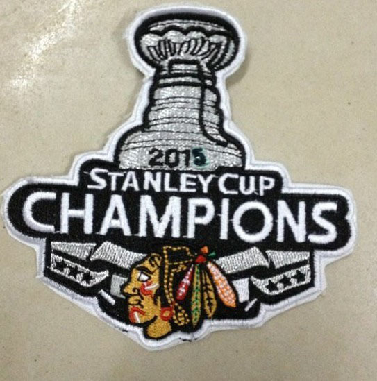 Chicago Blackhawks 2015 Stanley Cup Champions Patch