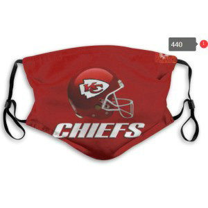 Chiefs Sports Face Mask 0440