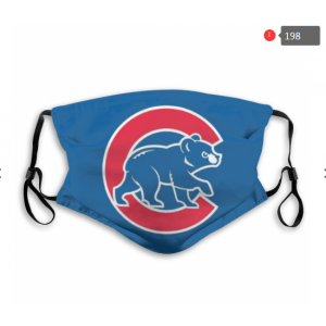 Cubs Sports Face Mask 00198