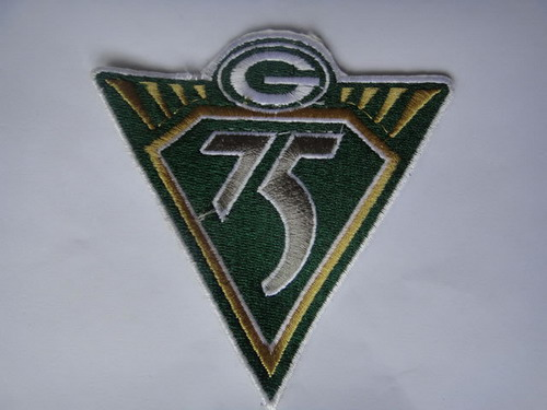 Green Bay Packers 75th Anniversary Patch