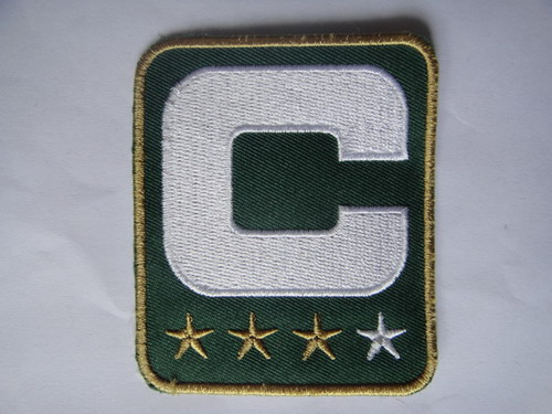 Green Bay Packers Captain Green C Patch