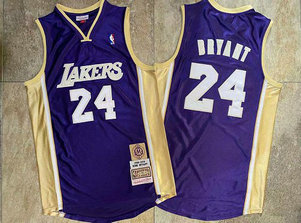 Lakers 24 Kobe Bryant Purple Hall Of Fame Memorial Edition Embroidered Jersey