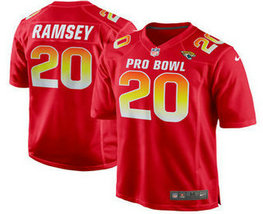 Men's Jacksonville Jaguars #20 Jalen Ramsey Stitched Red 2018 Pro Bowl NFL Nike Game Jersey