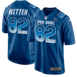 Men's NFC Jason Witten Nike Royal 2018 Pro Bowl Game Jersey
