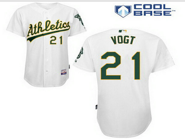 Men's Oakland Athletics #21 Stephen White Jersey