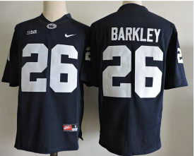 Men's Penn State Nittany Lions #26 Saquon Barkley Nike Navy Blue Limited Football Jersey