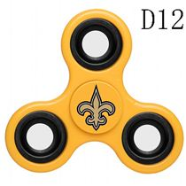 NFL New Orleans Saints Yellow Finger Spinner