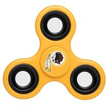 NFL Redskins Yellow Team Logo Finger Spinner