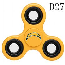NFL San Diego Chargers Yellow Finger Spinner