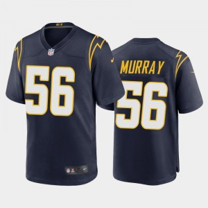 Nike Chargers 56 Kenneth Murray Navy 2020 NFL Draft Vapor Limited Men Jersey