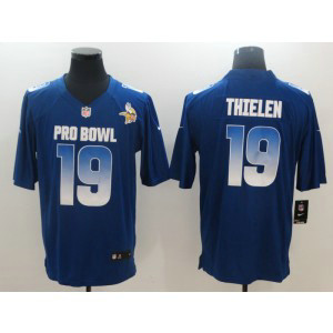 Nike NFC Vikings 19 Adam Thielen Royal 2019 Pro Bowl Game Men Jersey