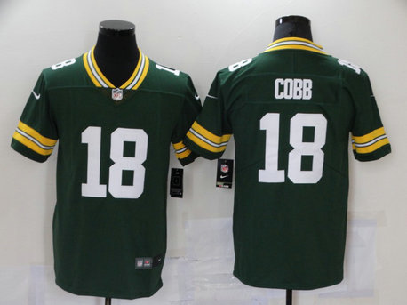 Nike Packers 18 Randall Cobb Green Vapor Untouchable Player Limited Jersey