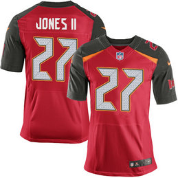 Nike Tampa Bay Buccaneers #27 Ronald Jones II Team Color Men's Stitched NFL New Elite Red Jersey
