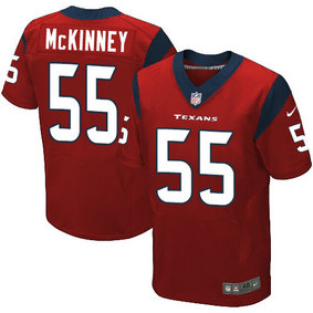 Nike Texans #55 Benardrick McKinney Stitched Red Alternate Men's NFL Elite Jersey