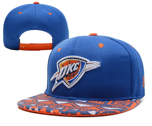Oklahoma City Thunder Snapbacks Hats YD022