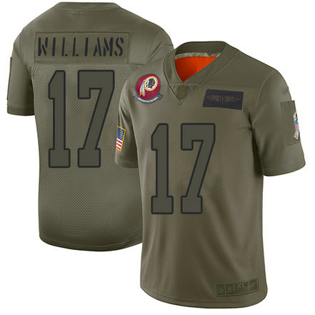 Redskins #17 Doug Williams Camo Men's Stitched Football Limited 2019 Salute To Service Jersey