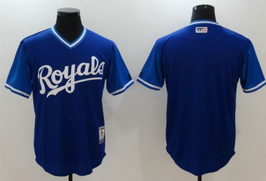 Royals Majestic Navy 2017 Players Weekend Team Nickname Jersey