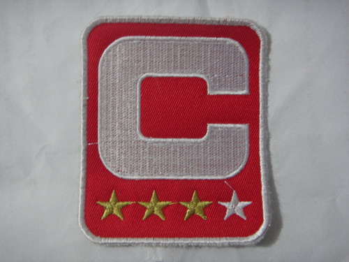 San Francisco 49ers Captain Red C Patch