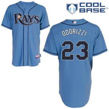 Tampa Bay Rays #23 Jake Odorizzi Light Blue Jersey