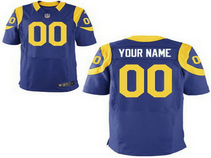 Youth Nike Los Angeles Rams Customized Alternate Royal Blue Game Jersey