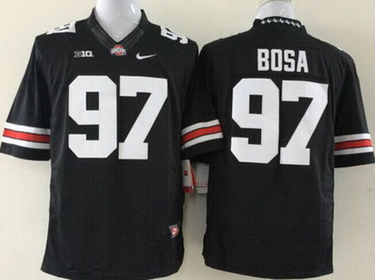 Youth Ohio State Buckeyes #97 Joey Bosa Black 2014 College Football Nike Limited Jersey